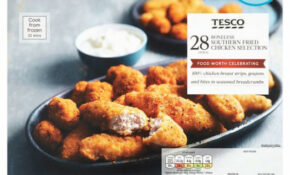 Tesco 28 Boneless Southern Fried Chicken Selection 550G ..