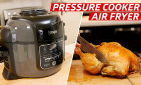 Testing A Two In One Air Fryer And Pressure Cooker – Eater – Chicken Recipes Ninja Foodi