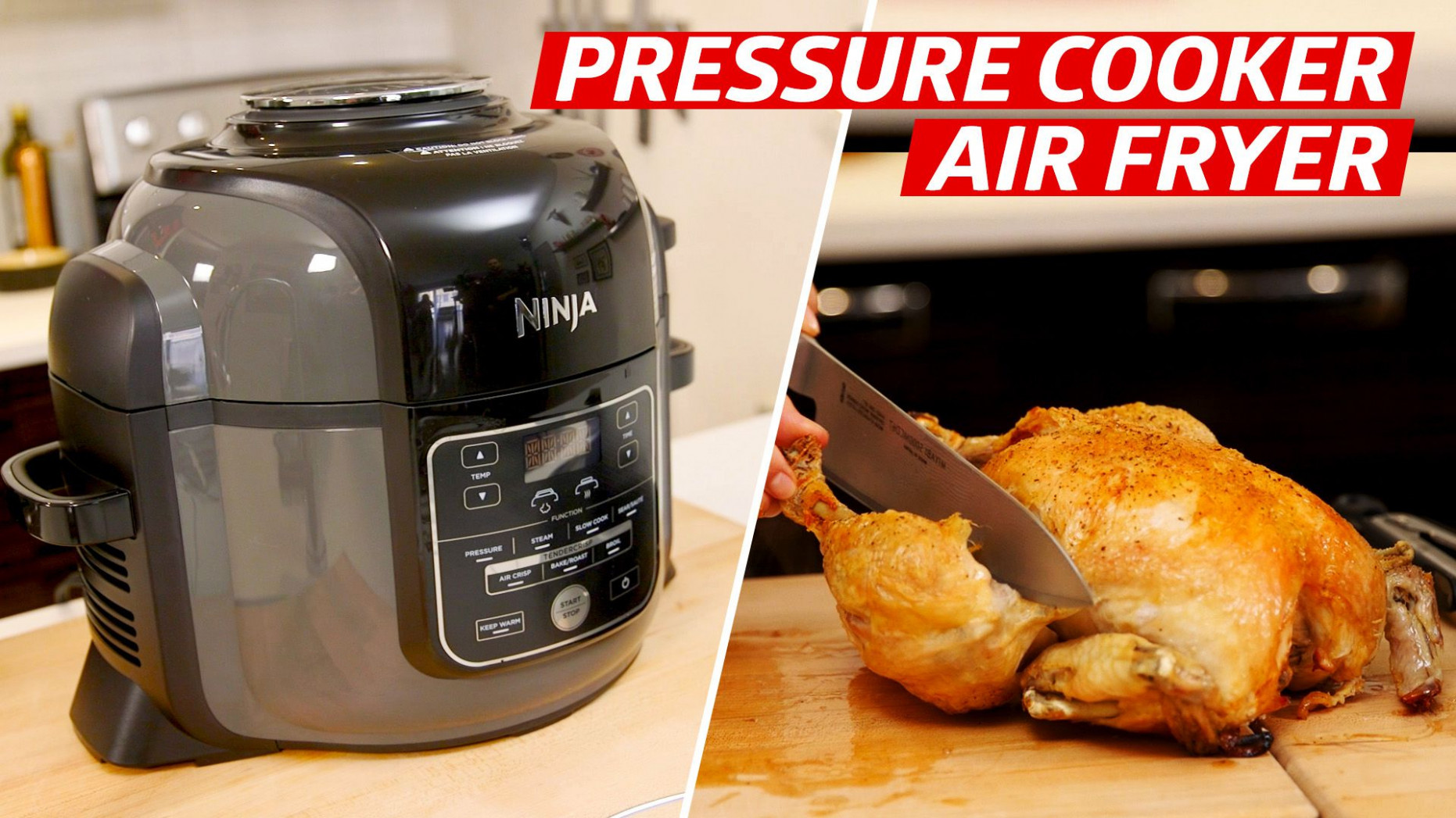 Testing a Two-In-One Air Fryer and Pressure Cooker - Eater - chicken recipes ninja foodi