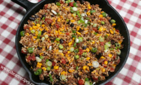 Tex Mex Ground Beef Skillet – Dinner Recipes With Ground Beef