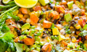 Tex Mex Skillet Sweet Potatoes – IFOODreal – Healthy Family ..