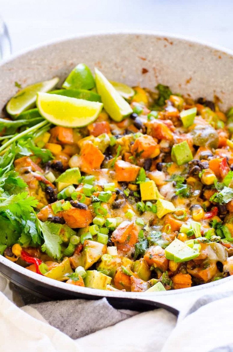 Tex Mex Skillet Sweet Potatoes - iFOODreal - Healthy Family ..