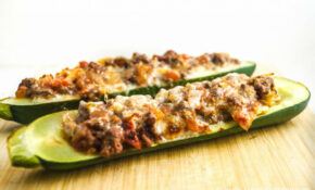Tex Mex Stuffed Zucchini – Slender Kitchen – Weight Watchers Chicken And Zucchini Recipes
