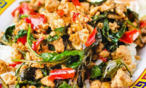 Thai Basil Chicken Recipe (Easy Pad Krapow Gai) | I Heart Umami – Umami Paste Recipes Chicken