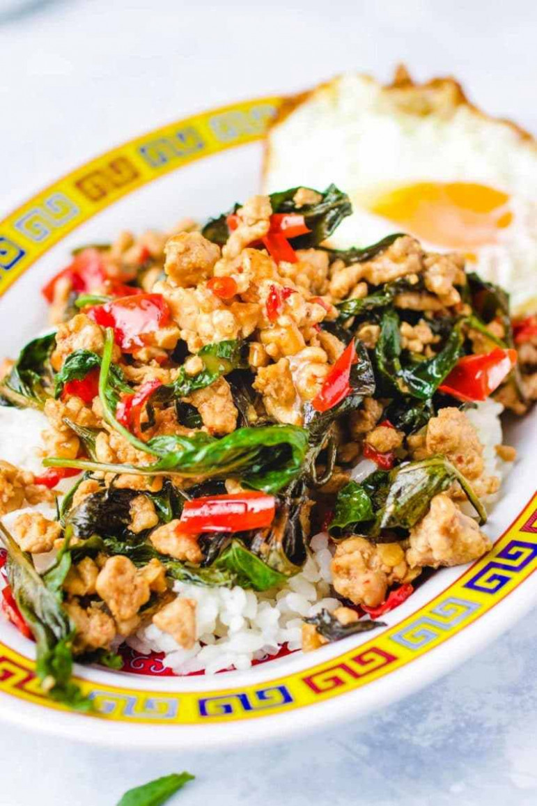 Thai Basil Chicken Recipe (Easy Pad Krapow Gai) | I Heart Umami - umami paste recipes chicken