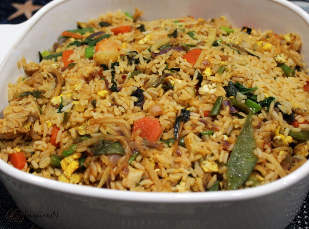 Thai Chicken Basil Fried Rice - fried rice recipes chicken