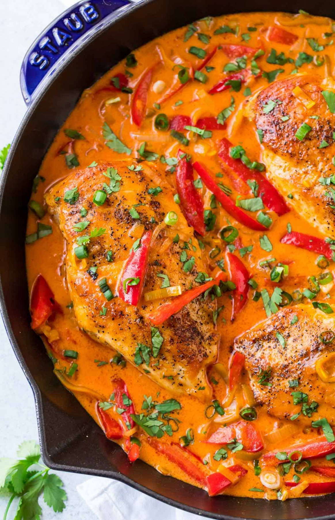 Thai Chicken Curry - thai recipes chicken
