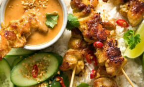 Thai Chicken Satay With Peanut Sauce | RecipeTin Eats – Recipes Satay Chicken