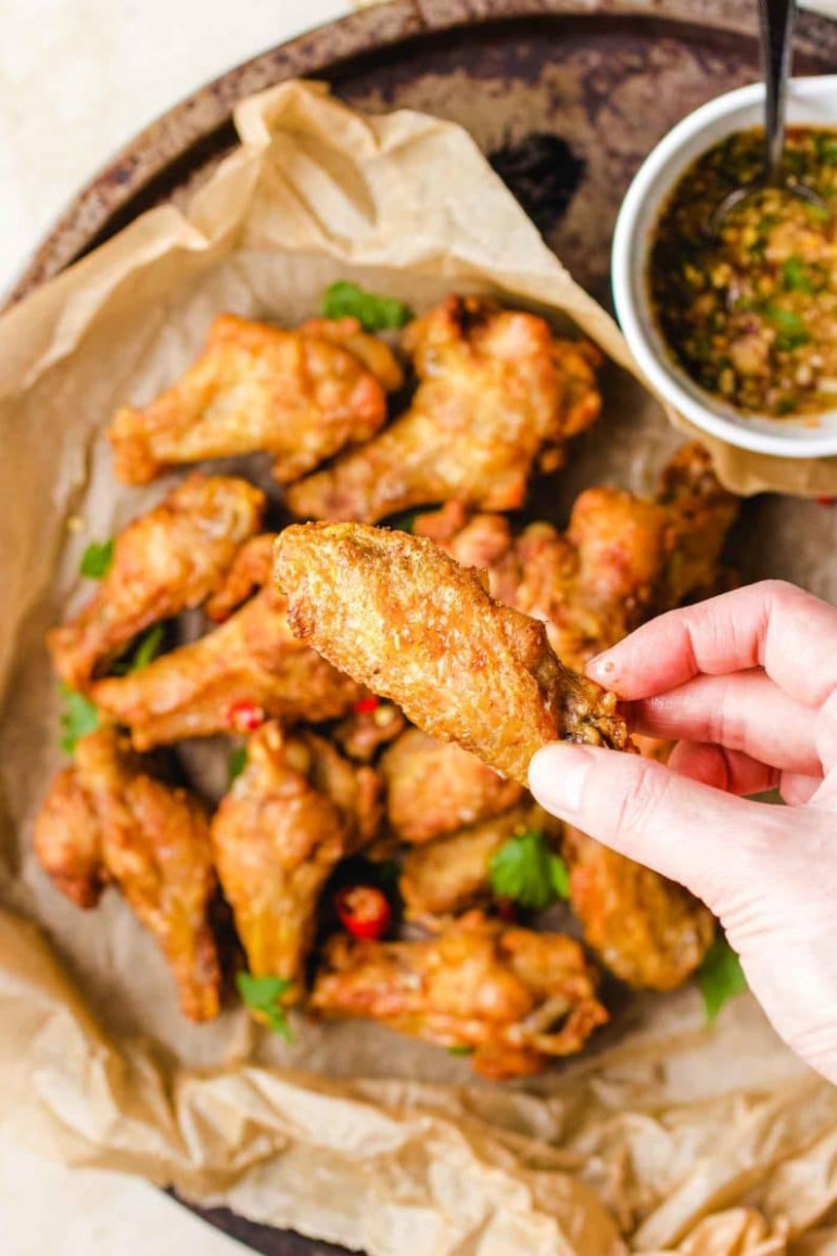 Thai Chicken Wings In Air Fryer (Paleo, Whole15, Keto) | I ..