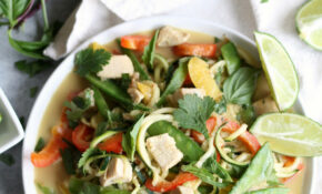 Thai Green Curry Chicken Vegetable Zucchini Noodles – Recipe Vegetarian Thai Green Curry