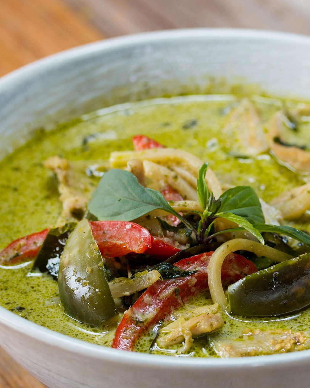 Thai Green Curry With Chicken By Chef Fern - curry recipes chicken