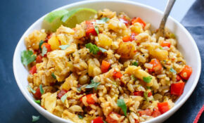 Thai Pineapple Fried Rice – Recipe Vegetarian Fried Rice