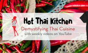 Thai Recipes And Video Tutorials By Hot Thai Kitchen – Vegetarian Recipe Youtube