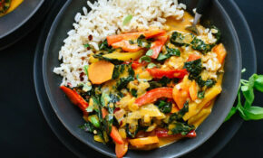 Thai Red Curry With Vegetables – Food Recipes With Rice