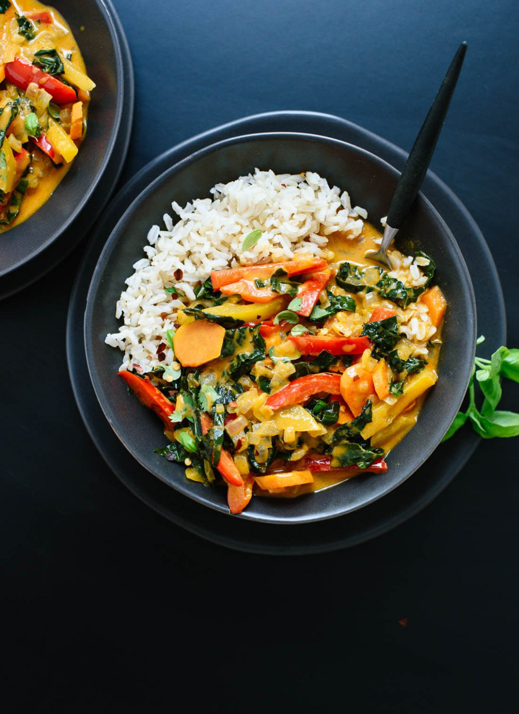 Thai Red Curry With Vegetables - Food Recipes With Rice