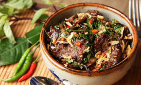 Thai Style Beef With Basil And Chilies (Phat Bai Horapha) Recipe – Food Recipes Beef