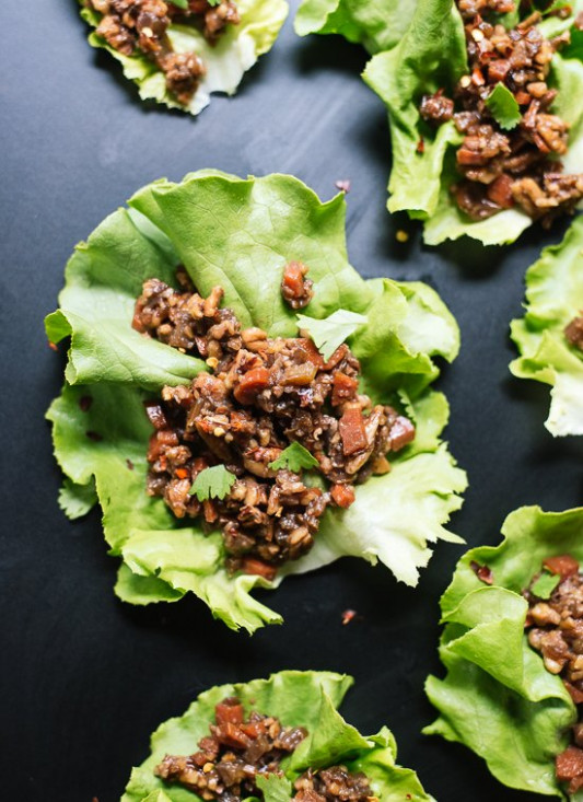 Thai-Style Lettuce Wraps - Cookie and Kate - egg recipes dinner healthy