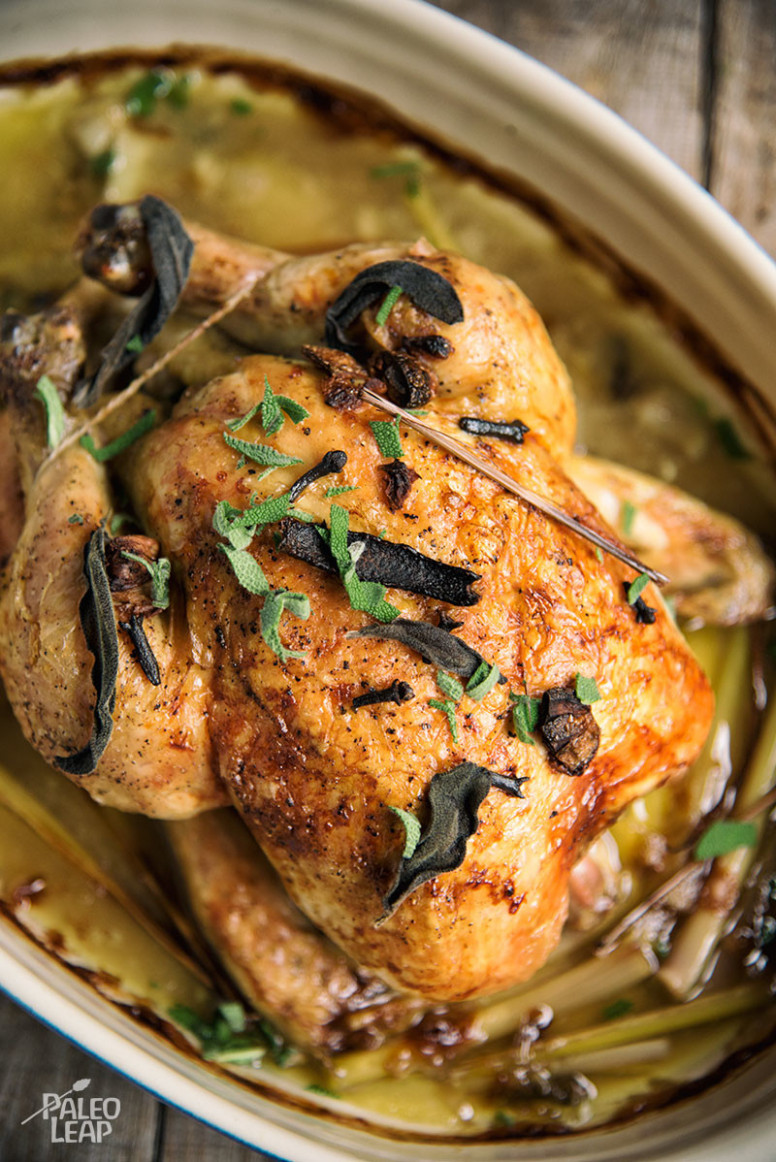 Thai Style Roasted Chicken | Paleo Leap - Thai Recipes Chicken