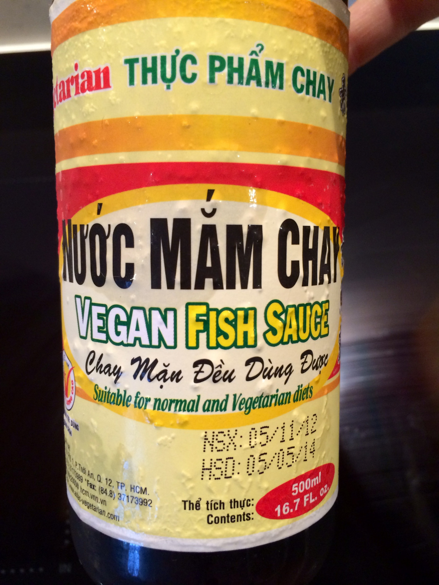 Thai Vegan Fish Soup (with a side of fish sauce history ..