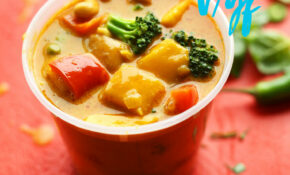 Thai Yellow Coconut Curry With Mango – Yellow Pepper Recipes Vegetarian
