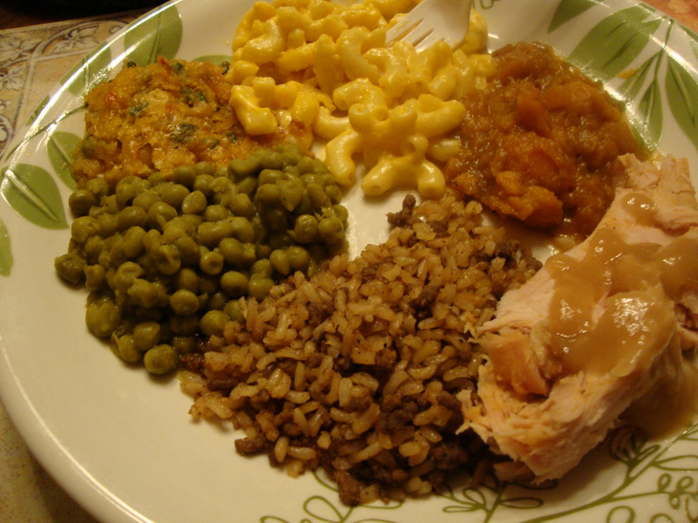 Thanksgiving dinner 2010 - grain free recipes dinner