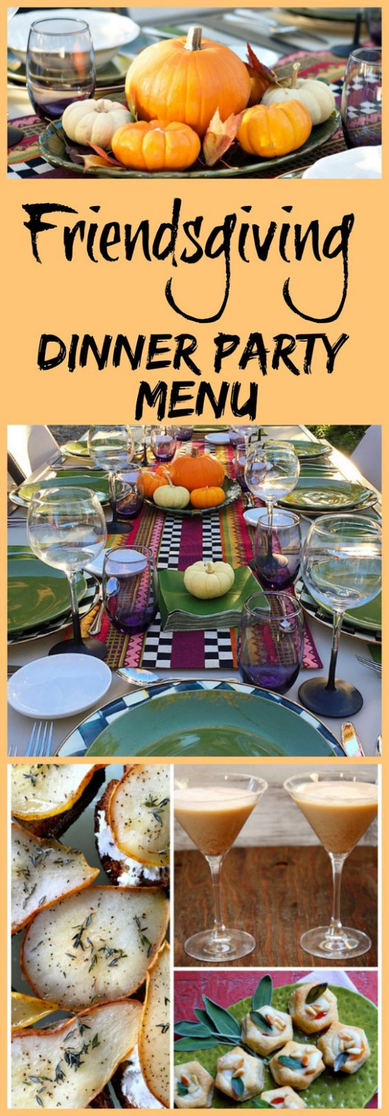 Thanksgiving, My best friend and Fall dinner parties on ..