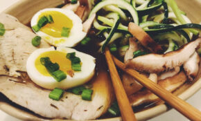 Thanksgiving Turkey Ramen With Zoodles {Keto + Low Carb ..