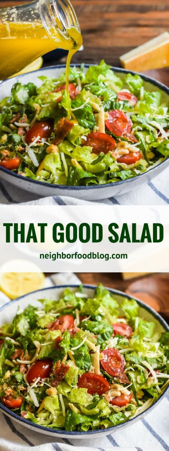 That Good Salad earned its name by being the talk of every ..