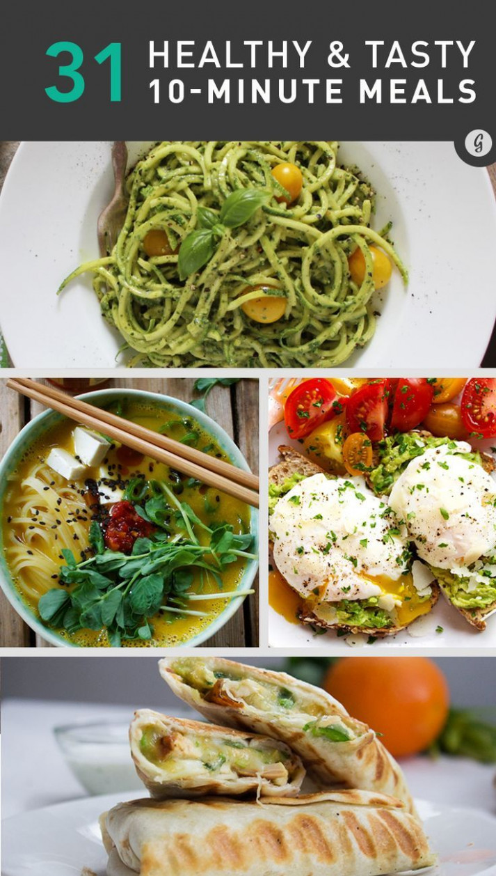 The 25+ best Quick healthy meals ideas on Pinterest | Easy ..
