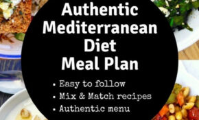 The Authentic Mediterranean Diet Meal Plan And Menu | Olive ..