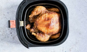 The Best Air Fryer Whole Chicken {Gluten Free, Low Carb ..