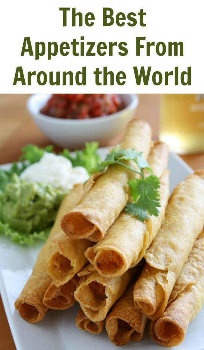 The Best Appetizers From Around the World | Recipe Round ..