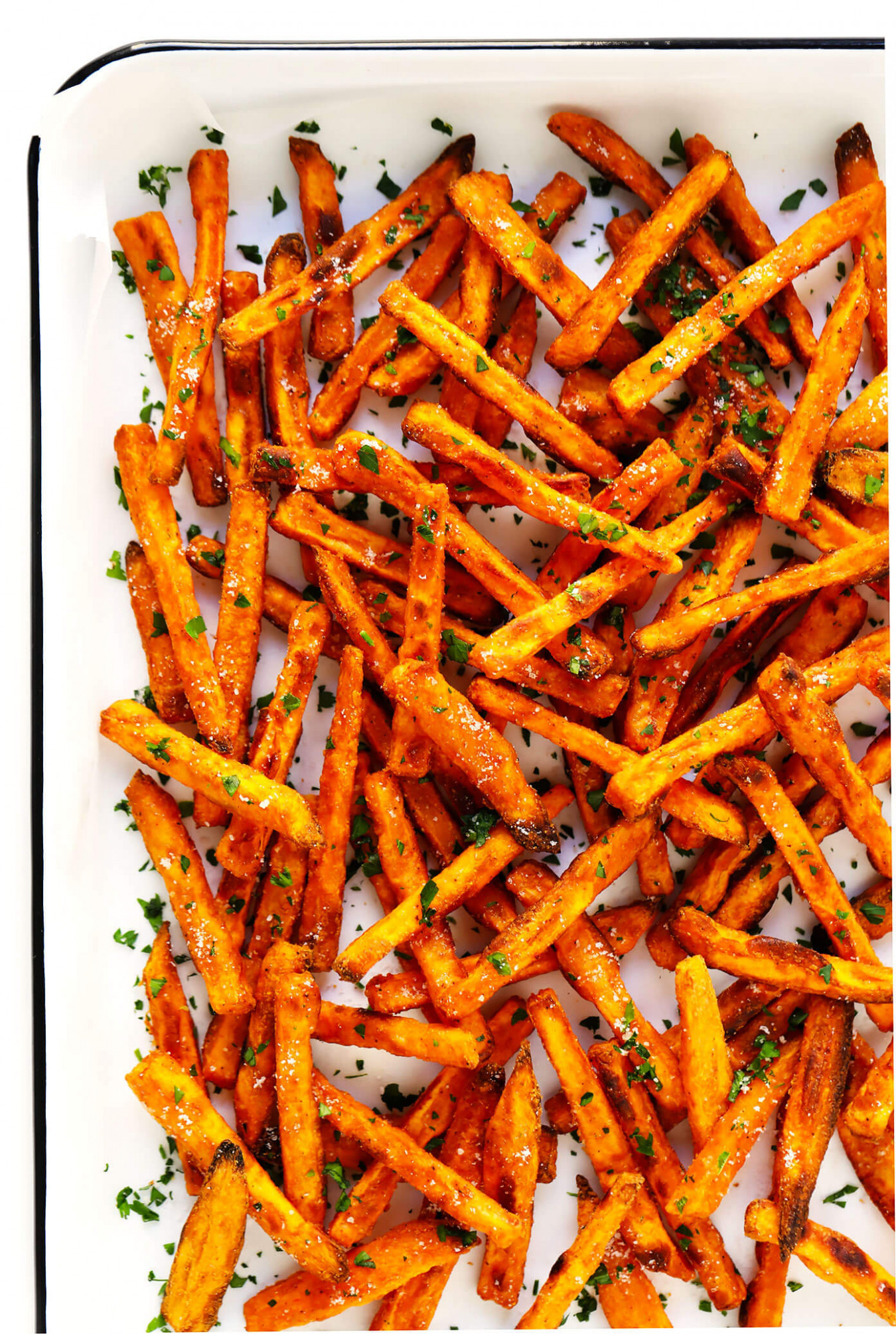 The BEST Baked Sweet Potato Fries - Sweet Potato Recipes Dinner