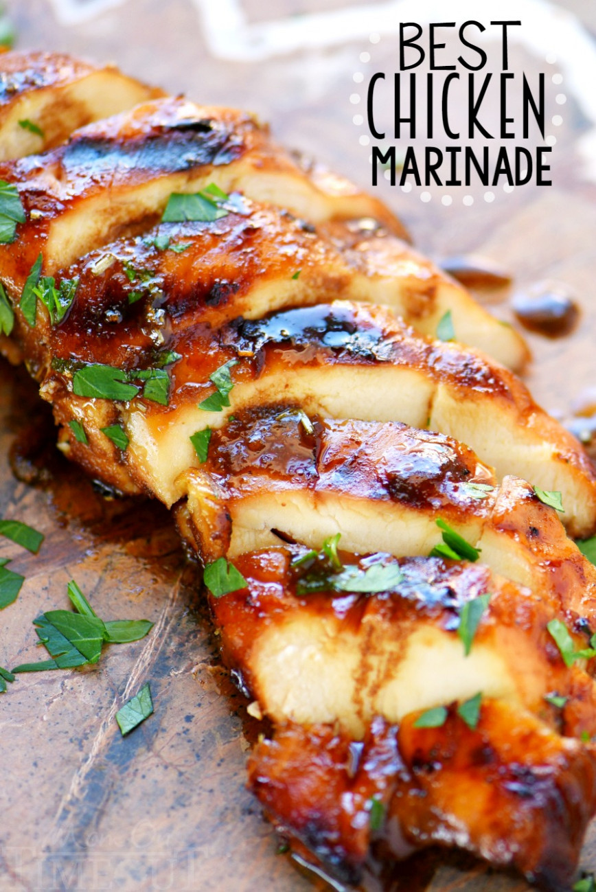 The BEST Chicken Marinade Recipe - Mom On Timeout - recipes grilled chicken