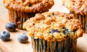 The Best Coconut Flour Blueberry Muffins (With Crumble Top) – Recipes Blueberry Muffins Healthy