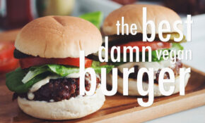 THE BEST DAMN VEGAN BURGER | Hot For Food – YouTube – The Best Vegetarian Recipes