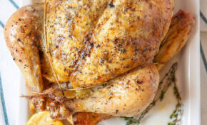 The Best Dry Brined Roast Chicken – Chicken Recipes Dry