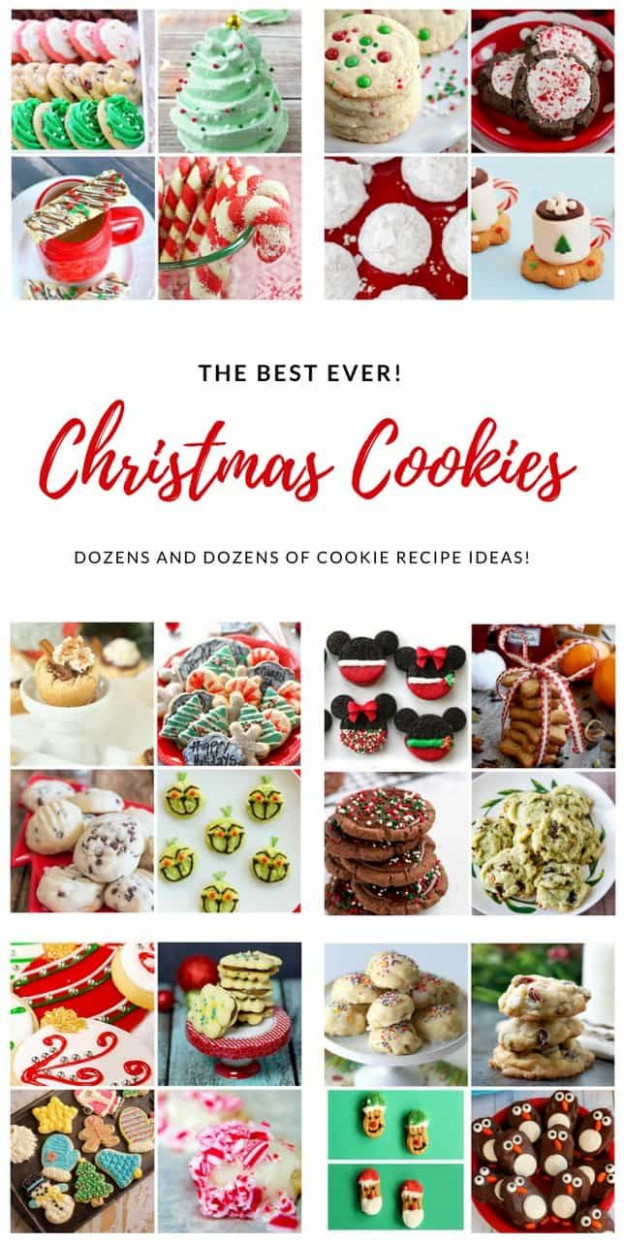 The Best Ever Christmas Cookies | Dozens And Dozens Of ..