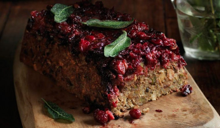 The Best Ever Nut Roast With Pistachios And Cranberries ..