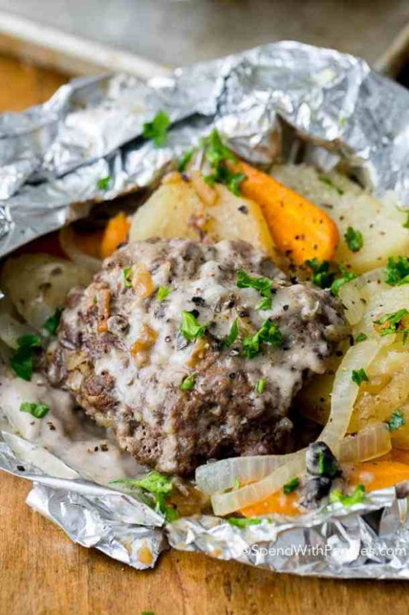 The Best Foil Packet Recipes - The Best Blog Recipes - Dinner Recipes Grill