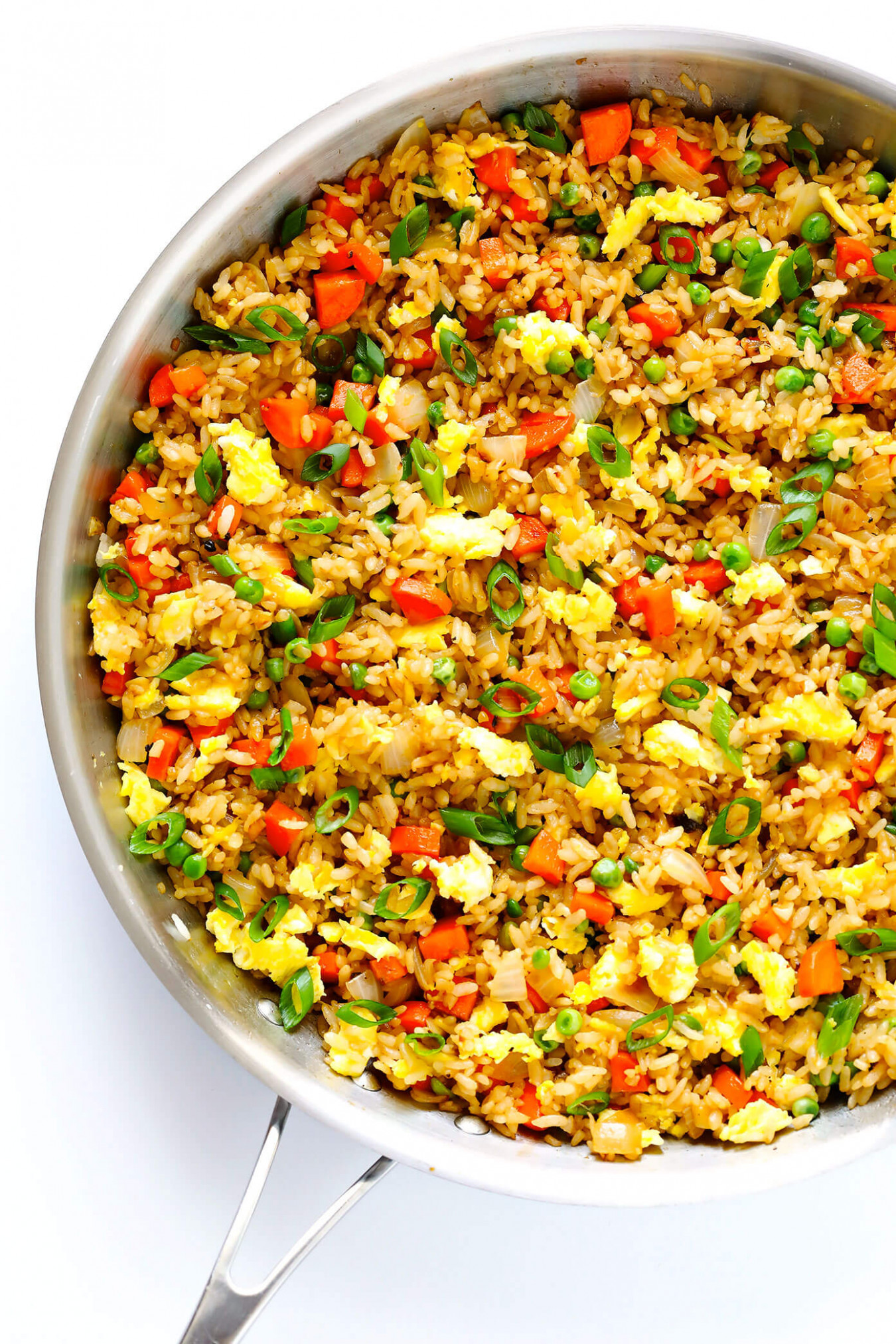 The BEST Fried Rice! - dinner recipes healthy vegetarian