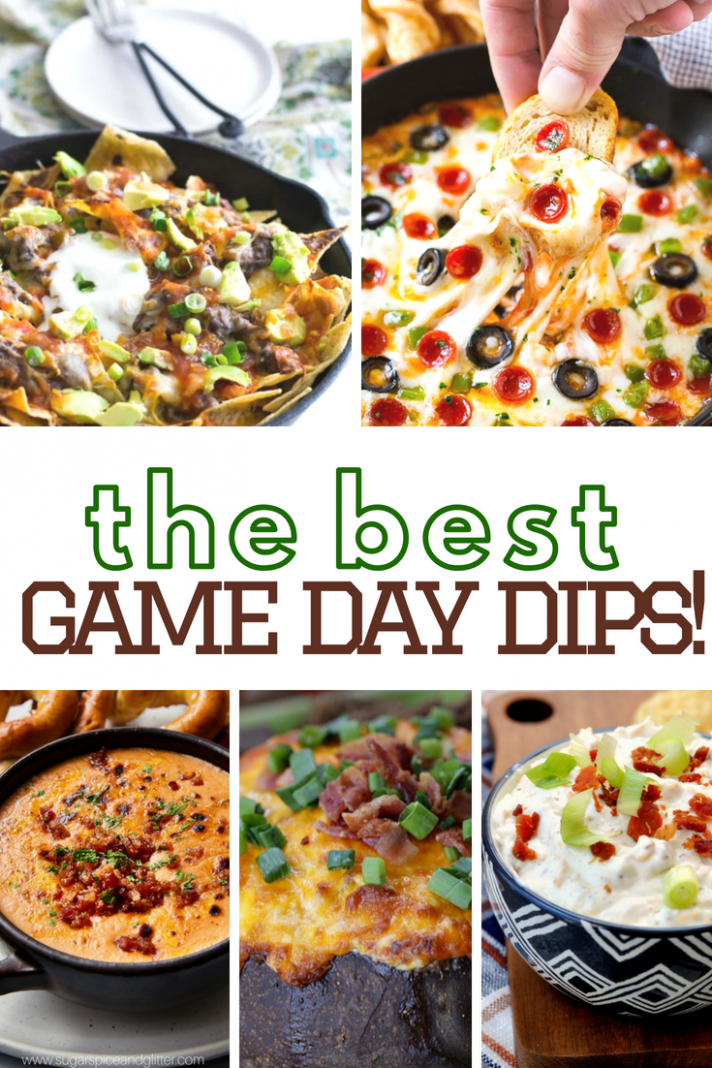 The Best Game Day Dip Recipes - A Grande Life - Easy Family Recipes Jalapeno Popper Chicken