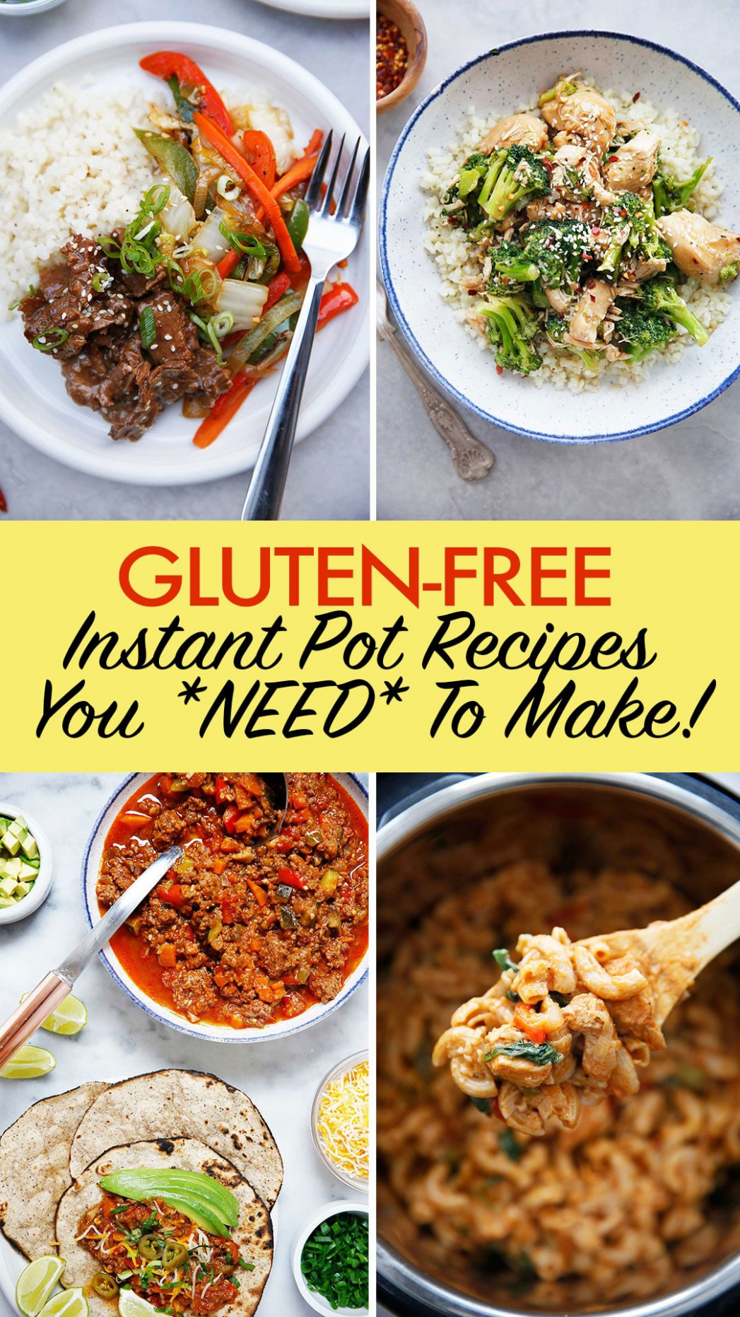 The Best Gluten Free Instant Pot Recipes - Lexi's Clean Kitchen - Dinner Recipes Gluten And Dairy Free