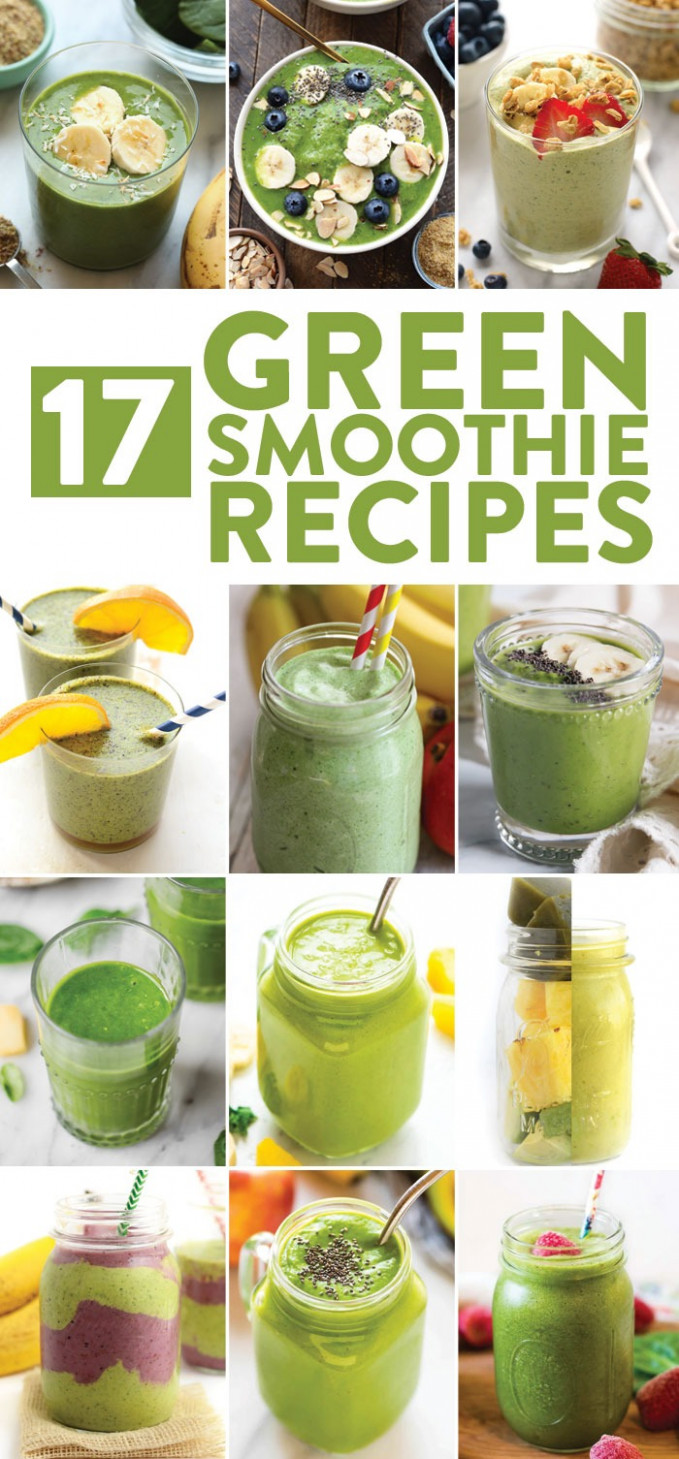 The Best Green Smoothie Recipes | Fit Foodie Finds - recipes smoothies healthy