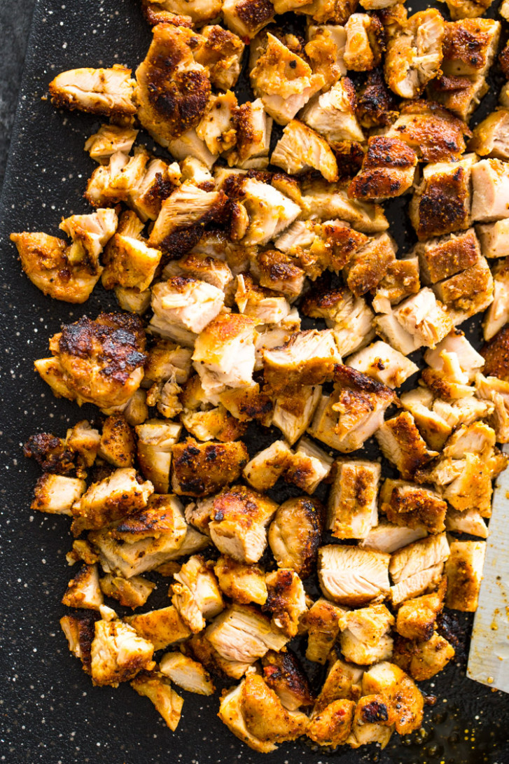The Best Grilled Chicken For Tacos, Burritos, Or Salads - Recipes With Grilled Chicken