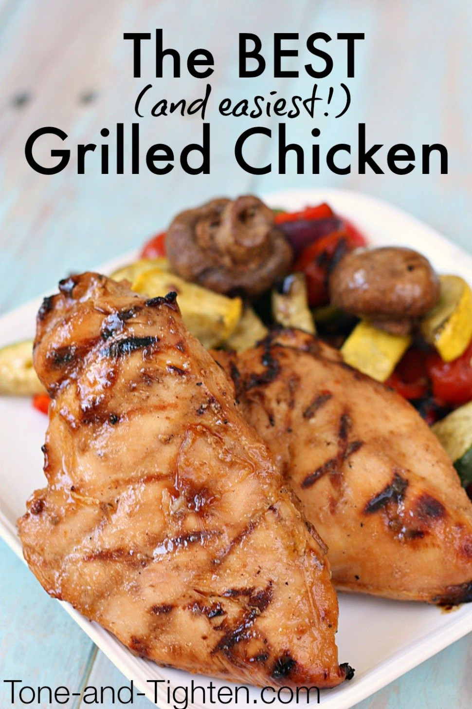 The Best Grilled Chicken Recipe (only 4 ingredients ..