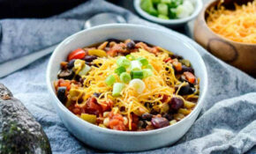 The BEST Healthy Crock Pot Chicken Chili – Recipes Easy Dinner Healthy