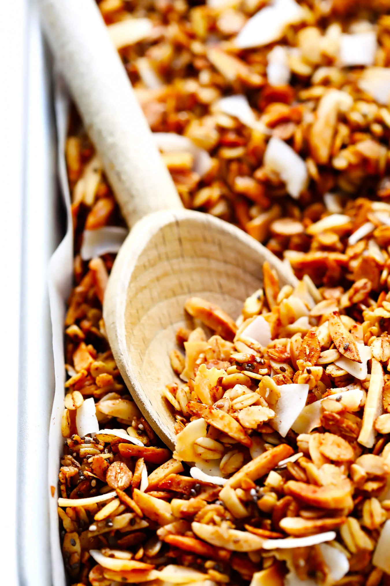 The BEST Healthy Granola! | Gimme Some Oven - recipequicks - recipes granola healthy