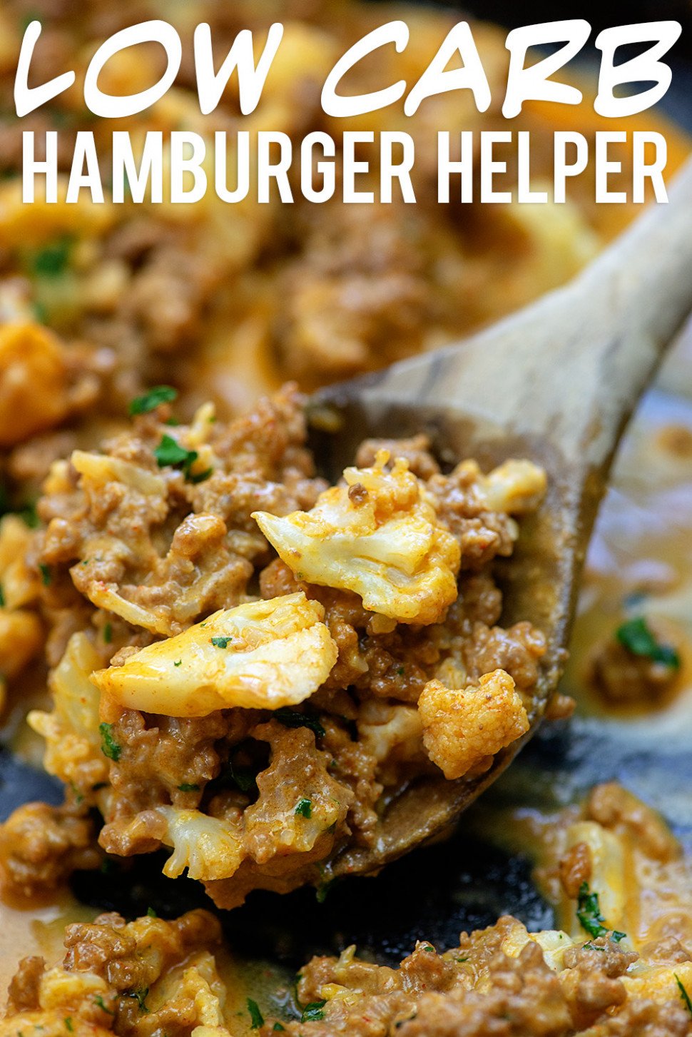 The BEST Healthy Hamburger Helper (Low Carb & Kid Friendly) - food recipes kid friendly