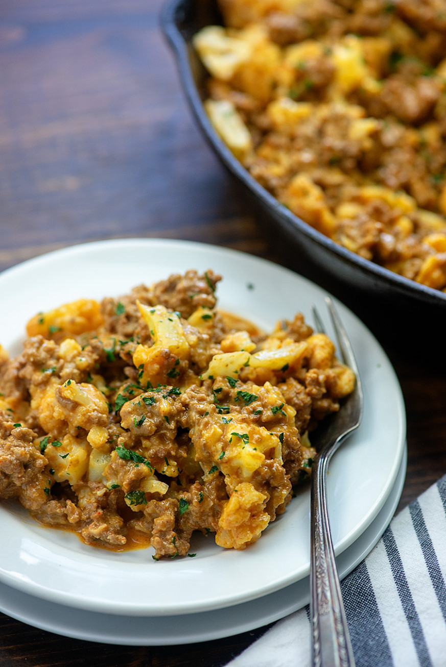 The BEST Healthy Hamburger Helper (Low Carb & Kid Friendly) - recipes dinner low carb